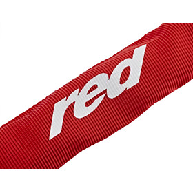 Red Cycling Products High Secure Chain - Candado bicicleta - 6 mm x 1000mm rojo